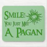 Pagan Smile Mousemats