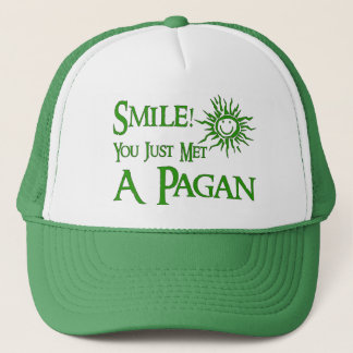 Pagan Smile Trucker Hat