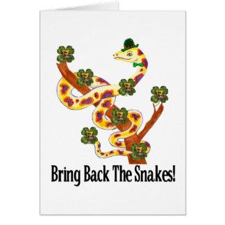 Pagan Snakes Card