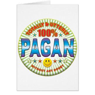 Pagan Totally Greeting Card