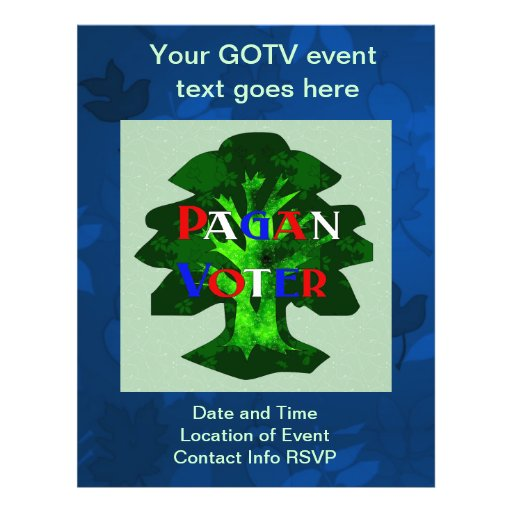 PAGAN VOTER PERSONALIZED FLYER