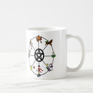 Pagan Wheel of the Year Mug