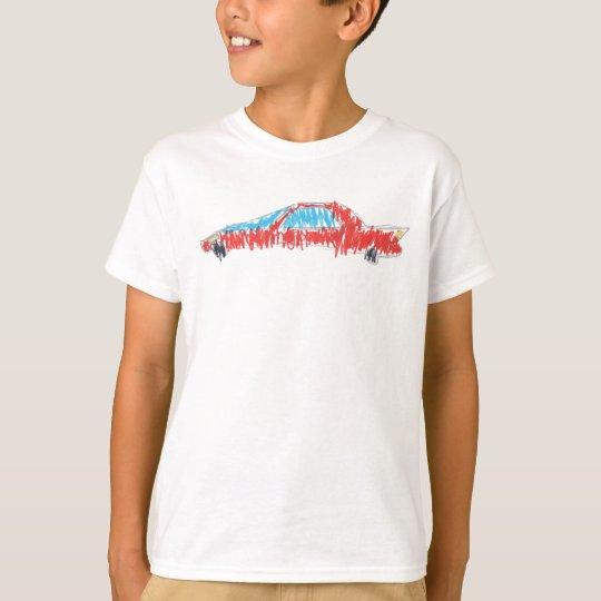 Pagani Zonda Kids' Basic Hanes Tagless ComfortSoft T-Shirt