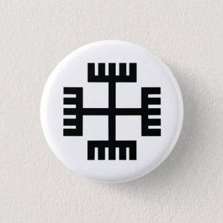 Paganism Religious Symbol 3 Cm Round Badge
