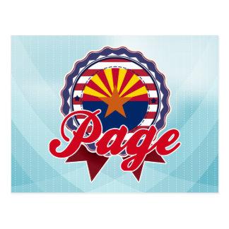 Page, AZ Postcard