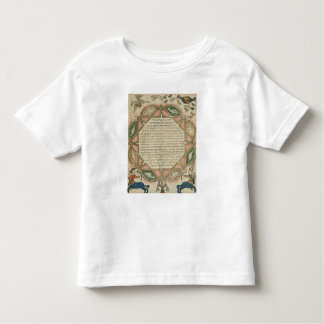 Page from a Hebrew Bible depicting Tee Shirt