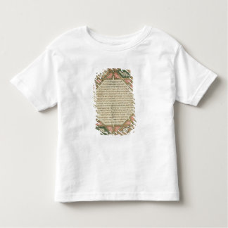 Page from a Hebrew Bible depicting T Shirt