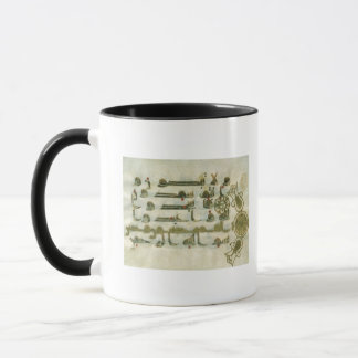 Page from the Koran, from Tunisia Mug