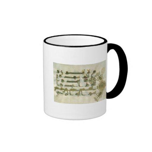 Page from the Koran, from Tunisia Coffee Mug