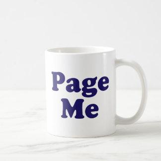 Page Me! Beep Me! Coffee Mug