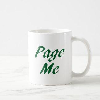 Page me! Beep Me! Mug