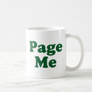 Page me! Beep Me! Coffee Mugs