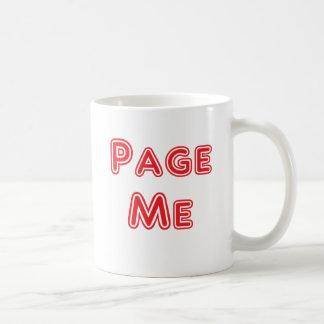 Page me! Beep me! Mugs