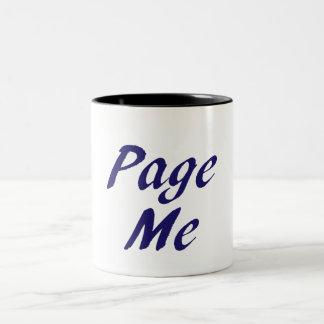 Page Me, Beep Me! Mug