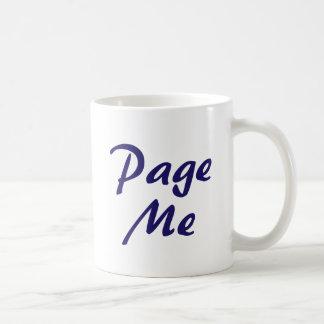 Page Me, Beep Me! Coffee Mug