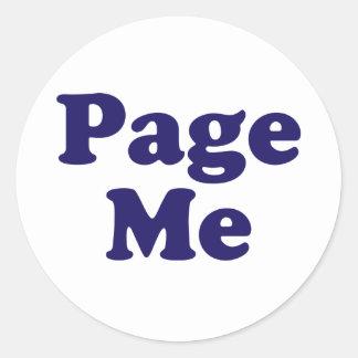 Page Me! Beep Me! Sticker