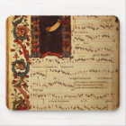 Page of Musical Notation with historiated Mouse Mat