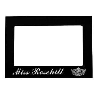 Pageant Crown Magnet Picture Frame Photo Frame Magnets