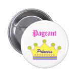Pageant Princess Pinback Button