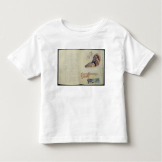 Pages from 'Noa Noa', 1893-94 Toddler T-Shirt