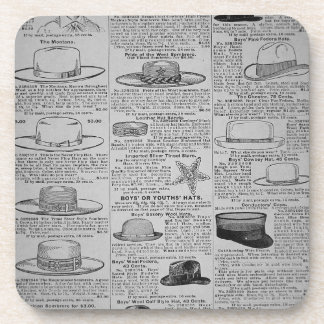 Pages from Sears Roebuck of Chicago catalogue of Beverage Coaster