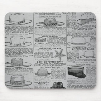 Pages from Sears, Roebuck of Chicago, catalogue of Mouse Mat