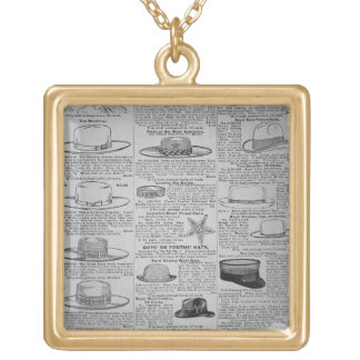 Pages from Sears, Roebuck of Chicago, catalogue of Square Pendant Necklace