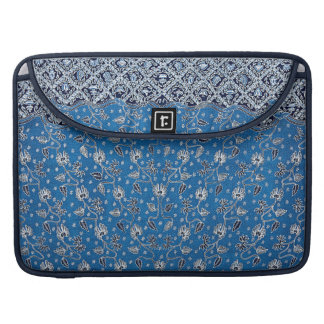 Pagi Sore/Day & Night Flower Batik Sleeve For MacBook Pro