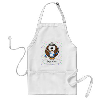 paging Doc Owl Standard Apron