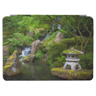 Pagoda and Pond in the Japanese Garden iPad Air Cover