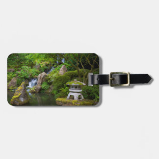 Pagoda and Pond in the Japanese Garden Luggage Tag
