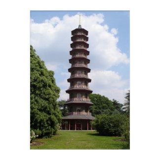 Pagoda at Kew Acrylic Print