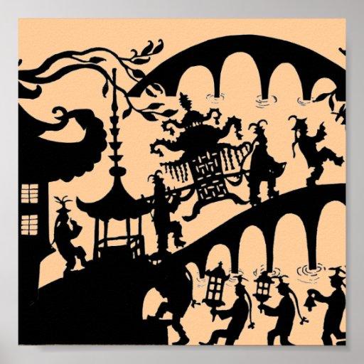 Pagoda Dance Poster
