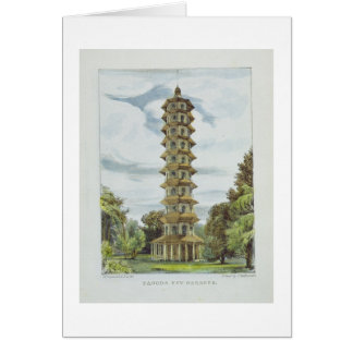 Pagoda, Kew Gardens, plate 9 from 'Kew Gardens: A Card