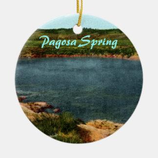Pagosa Spring Christmas Ornament