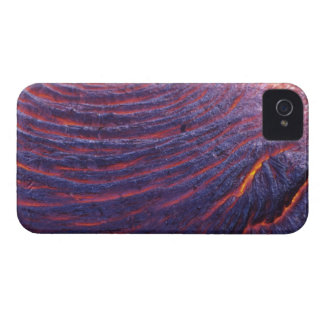Pahoehoe lava flow from Kilauea Volcano iPhone 4 Covers