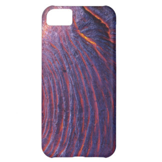 Pahoehoe lava flow from Kilauea Volcano iPhone 5C Case