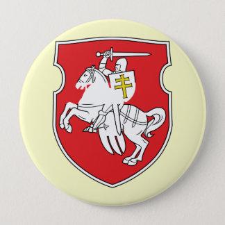 Pahonia, Belarus 10 Cm Round Badge