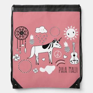 """Paia Maui"" Bag Drawstring Bag"