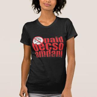 Paid becso amdani tee shirt