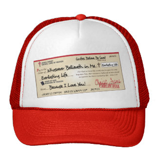 Paid in Full Saved by Jesus Check Cap