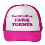 Paige Turner Cap