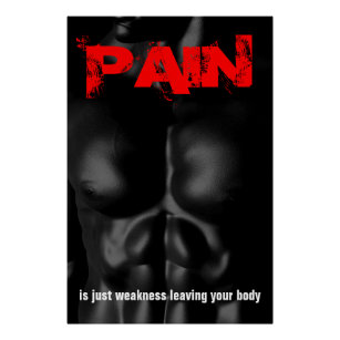 Pain Weakness Leaving The Body Art Wall Décor Zazzlecouk