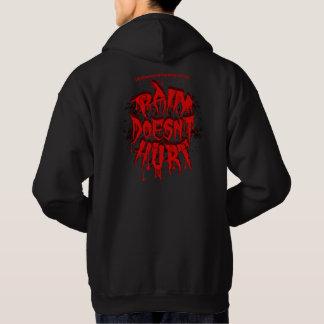 PAIN DOESNT HURT black hoodie
