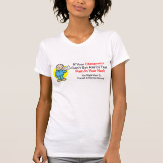 Pain In The Neck Ladies Shirt