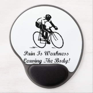 Pain Is Weakness Gel Mouse Pad