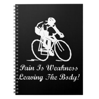 Pain Is Weakness Note Books