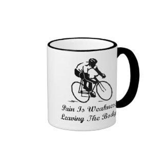 Pain Is Weakness Ringer Mug