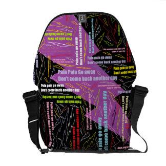 Pain Pain Go Away Commuter Bag
