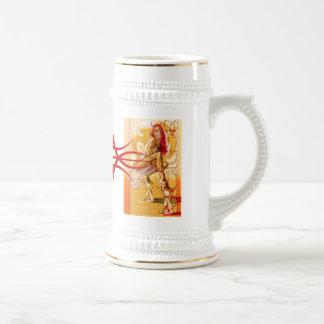 Pain Star Sin Red Tribal Logo Mug